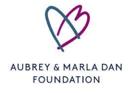 Aubrey & Marla Dan Foundation Logo
